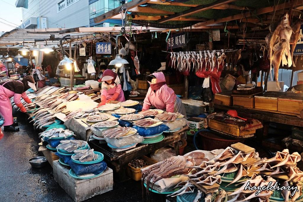 Busan-Jalgachi Fish Market-Hazeldiary-2