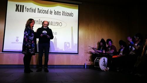 Entrega de premios del Festival Nacional de Teatro Aficionado y homenaje a Juan Motilla