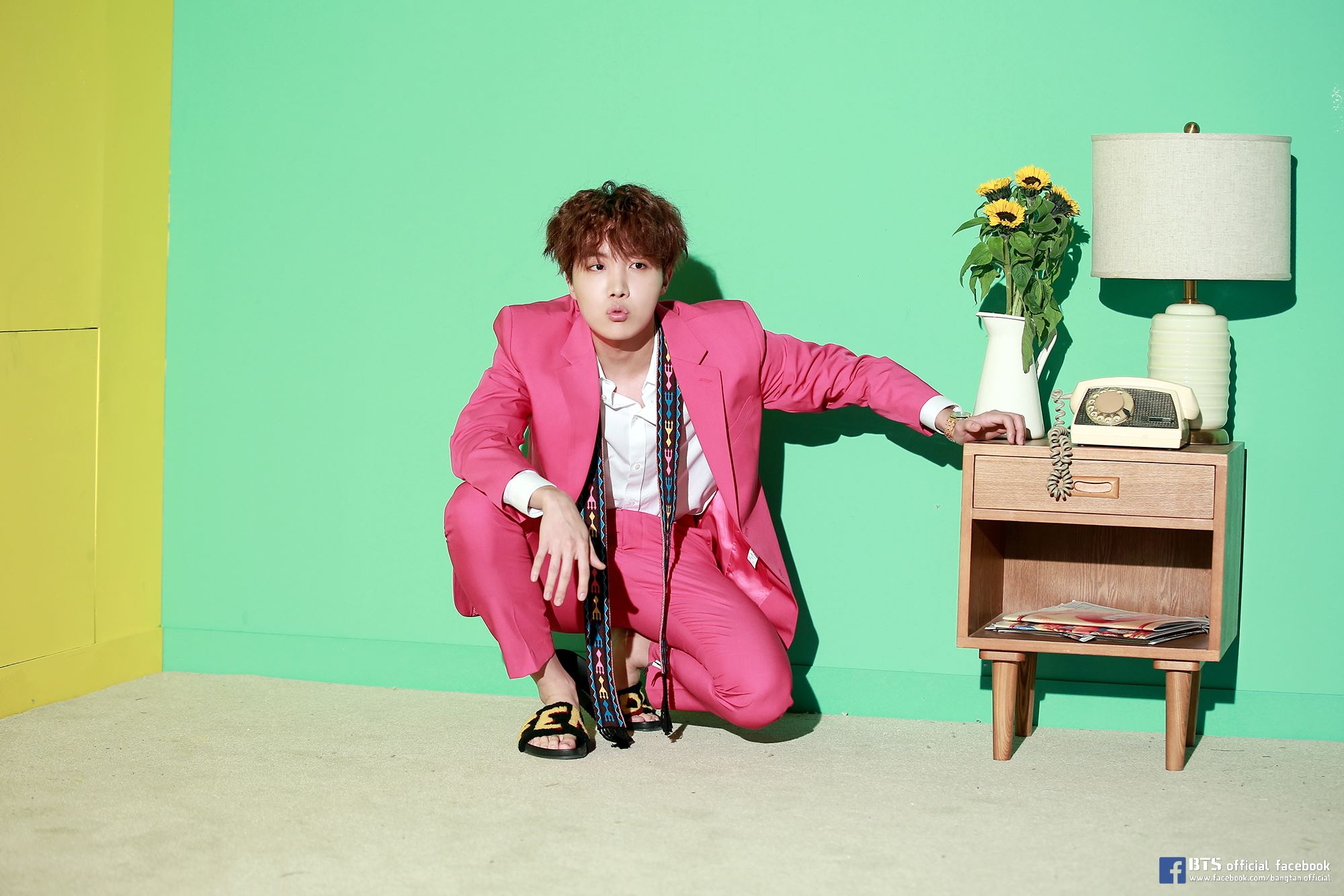 [Picture/FB] j-hope 1st mixtape 'Daydream(백일몽)' MV Sketch