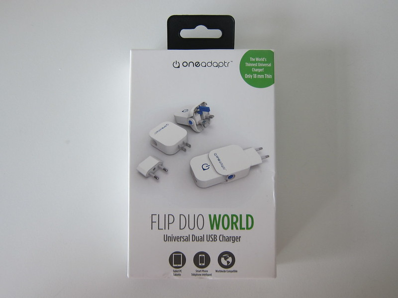 Flip Duo World - Box Front