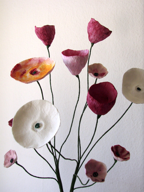 Handmade Paper Flowers by Alessandre Fabre Repetto