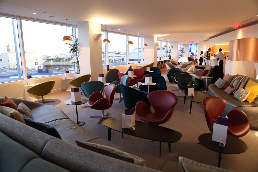 Virgin Atlantic Clubhouse LAX 5