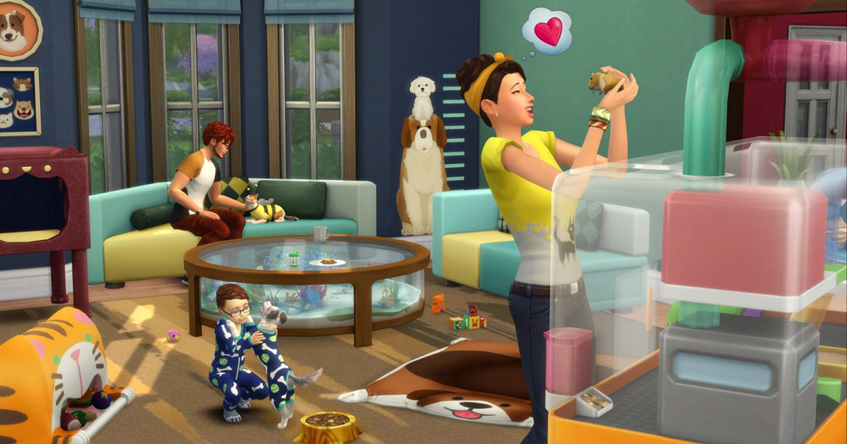 Photo of Blog de Comunidade: The Sims 4 Meu Primeiro Bichinho
