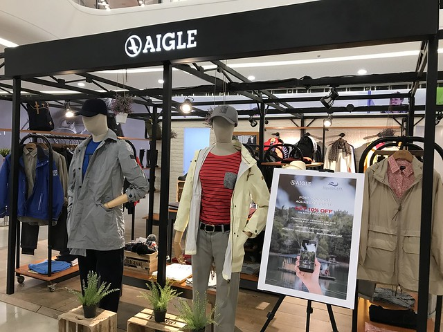 Podium Mall,  Aigle store