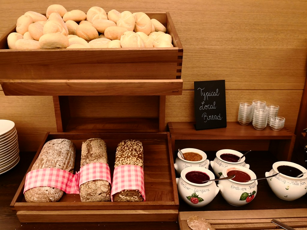 Local bread with preserves