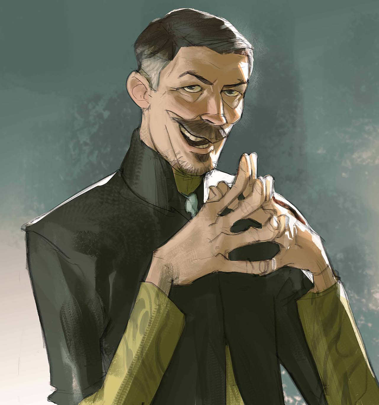 Artist Creates Unique Character Arts From Game Of Thrones – Petyr Baelish (Little Finger)Character Art By Ramón Nuñez
