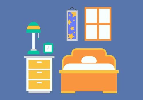 藍色房間(Vecteezy)