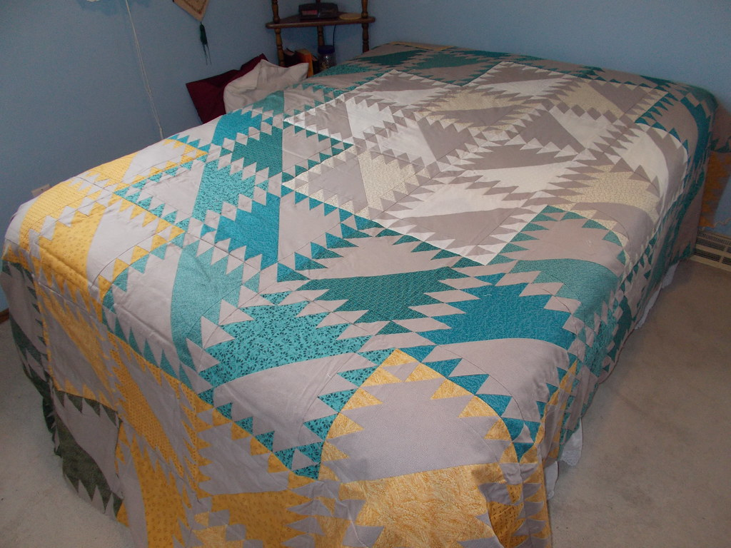 Serendipity quilt by Sandi Walton at Piecemeal Quilts