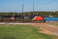 CN 2718 | GE C44-9W | CN Yazoo Subdivision