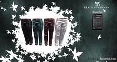 PROMO 24 HOURS 75 L$^TD^ Elegance Pants 20 colors Hud Controlled Standard Sizes for men