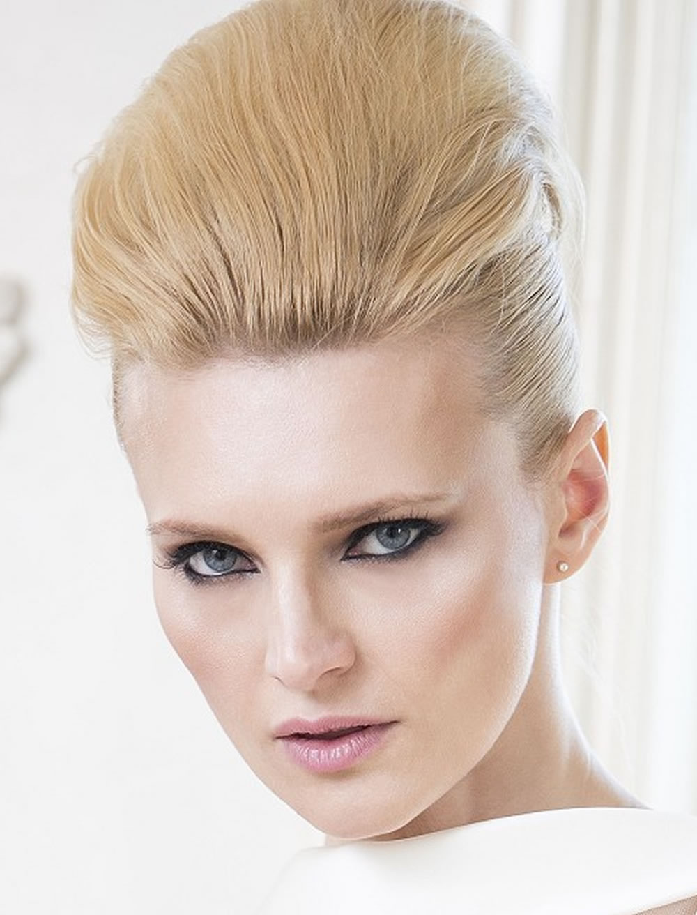 Updo Hairstyles For Round, Square Oval Faces 2018 - 2019 4