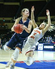 2018 MIAA Women's Basketball Tournament-Quarterfinals: Pitt State vs Washburn