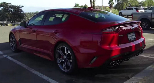 2018 Kia Stinger Gets A Big Thumbs Up From Kelley Blue Book