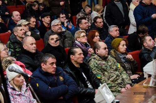 Игорь Шпортюк на встрече «проукраинского актива» Краматорска с Дмитрием Ярошем