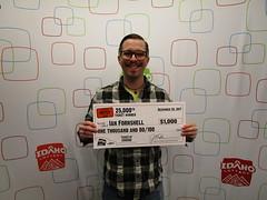 Ian Fornshell - $1,000 - Idaho $1,000,000 Raffle