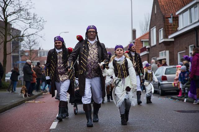 Carnavalsoptocht in Zwolle