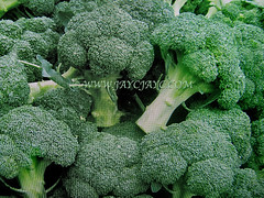 Brassica oleracea (Broccoli, Wild Mustard, Wild Cabbage) for sale in a supermarket, 9 Feb 2018