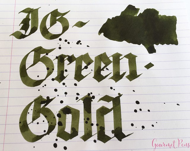 Ink Shot Review KWZI IG Green Gold @AppelboomLaren 6