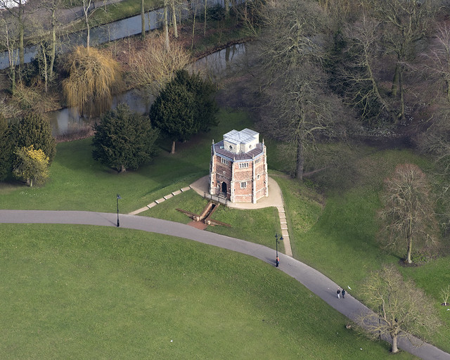 Kings Lynn - The Red Mount Chapel aerial view