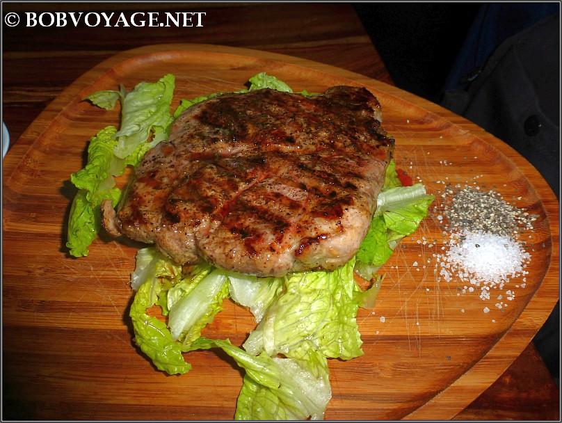 סטייק בשר לבן ב- יורש - ersh