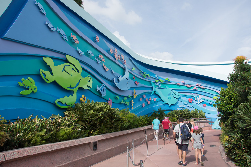 Outside The Seas with Nemo and Friends at EPCOT