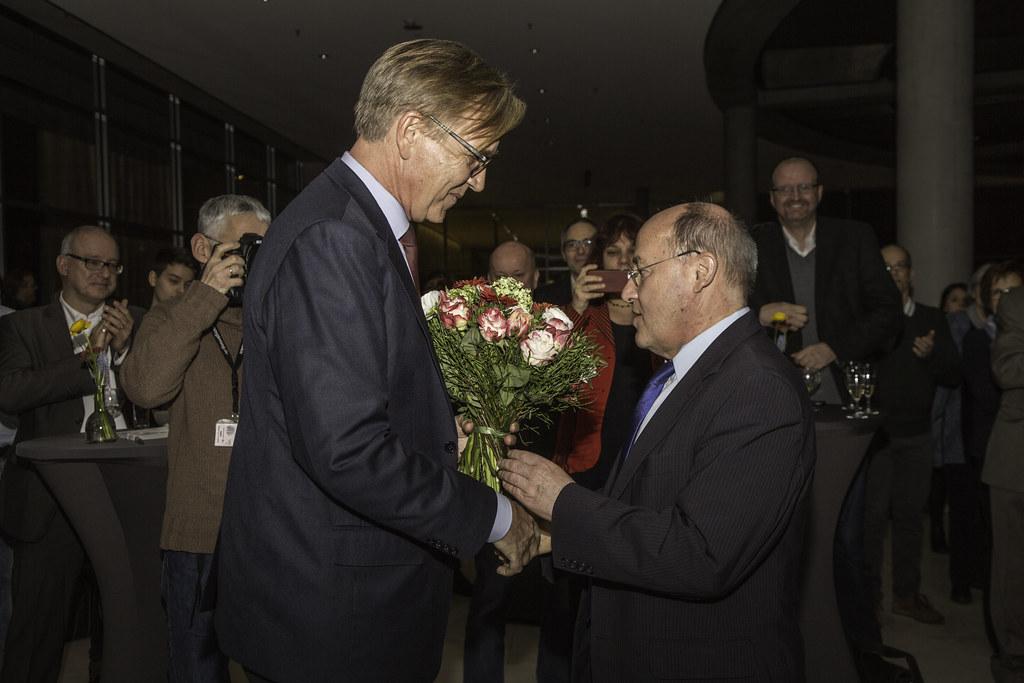 Linksfraktion ehrt Gregor Gysi zum 70.Geburtstag