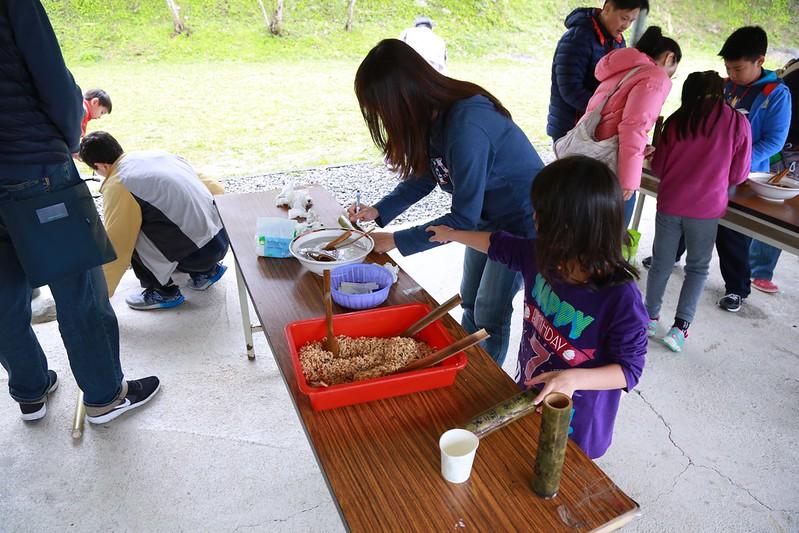 竹筒飯體驗課
