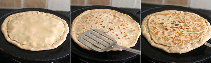 How to make pizza paratha recipe - Step6