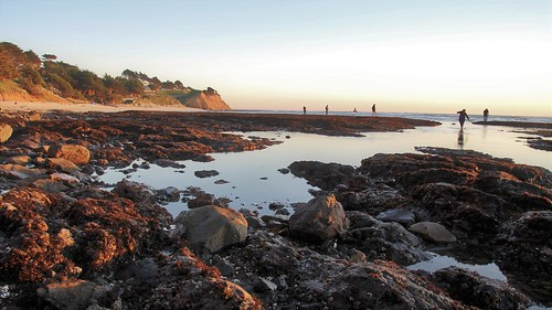 Tide pools at sunset | by keppet