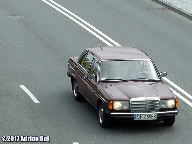 Mercedes-Benz W123, Fujifilm FinePix HS35EXR