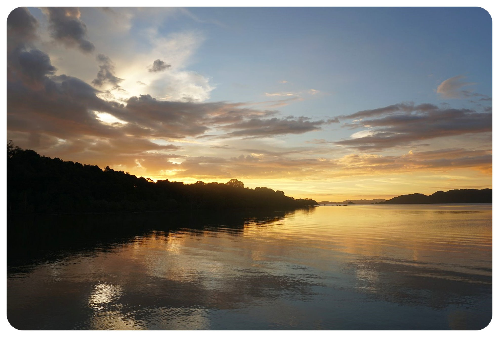 thailand koh yao noi sunset