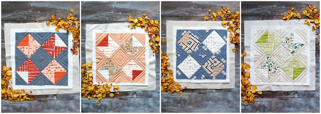 Amity Love Story Quilt Blocks