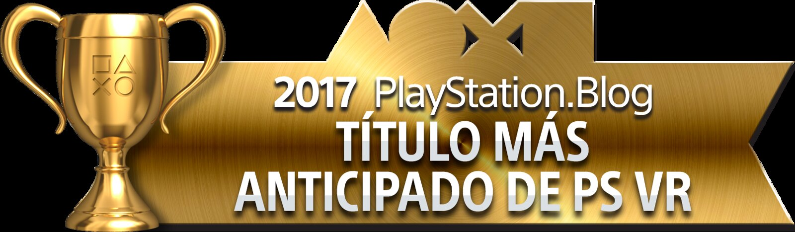 PlayStation Blog Game of the Year 2017 - Most Anticipated PS VR Title (Gold)