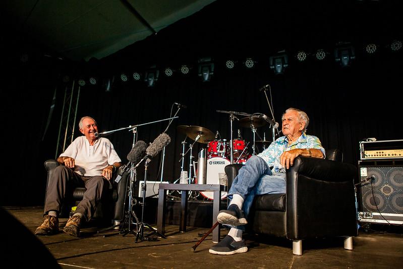 Bob Hawke & Prof Ian Lowe_PhotoLachlanDouglas