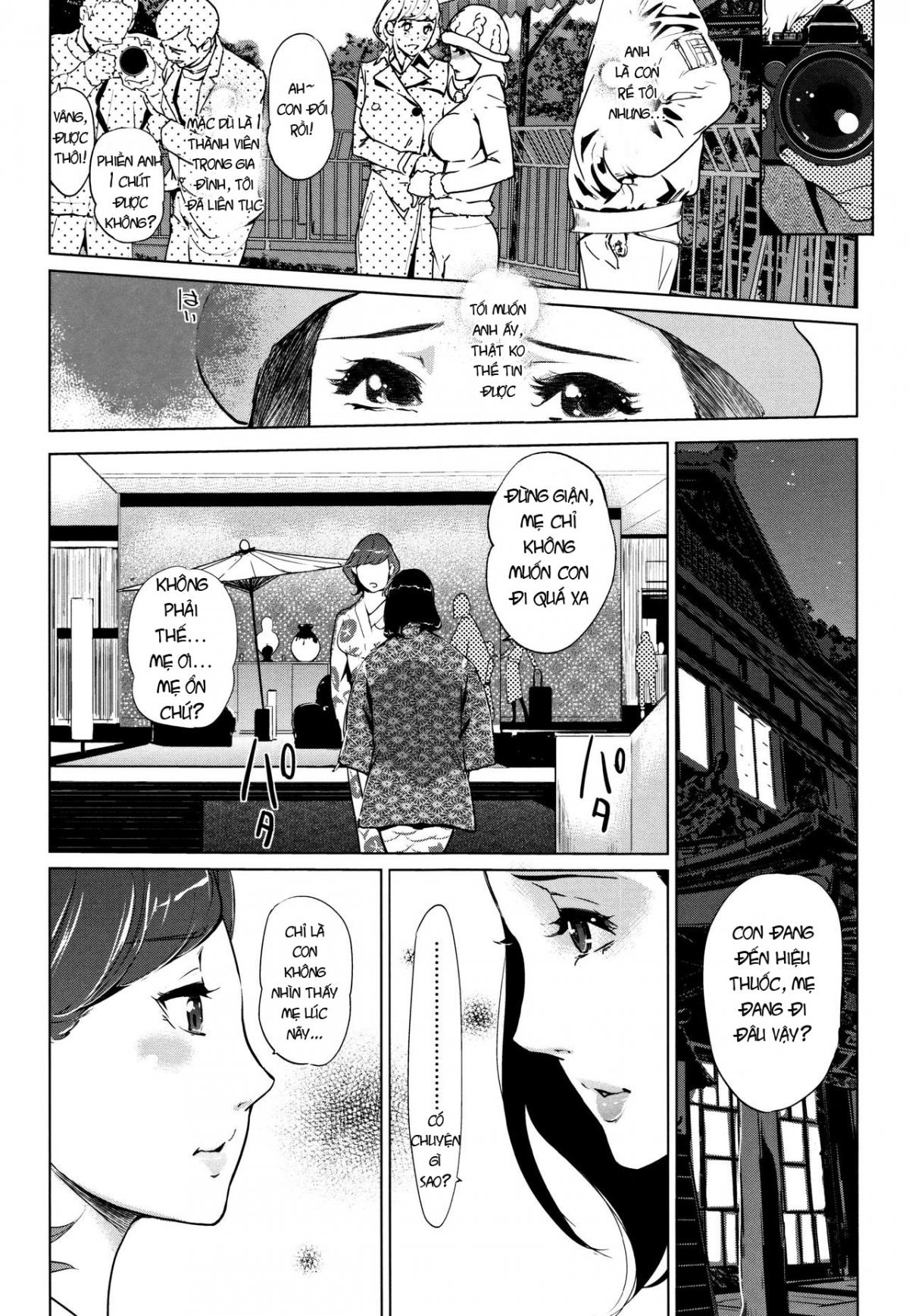 HentaiVN.net - Ảnh 22 - Shinjuiro no Zanzou - Pearl Grey Afterimage; Shinjuiro No Zanzou ~Kazoku Ga Neshizumatta Ato De~ - Chap 3