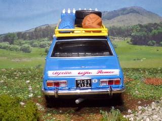 Alfa Romeo Alfetta - Raid Capo North Capo Sud - 1972