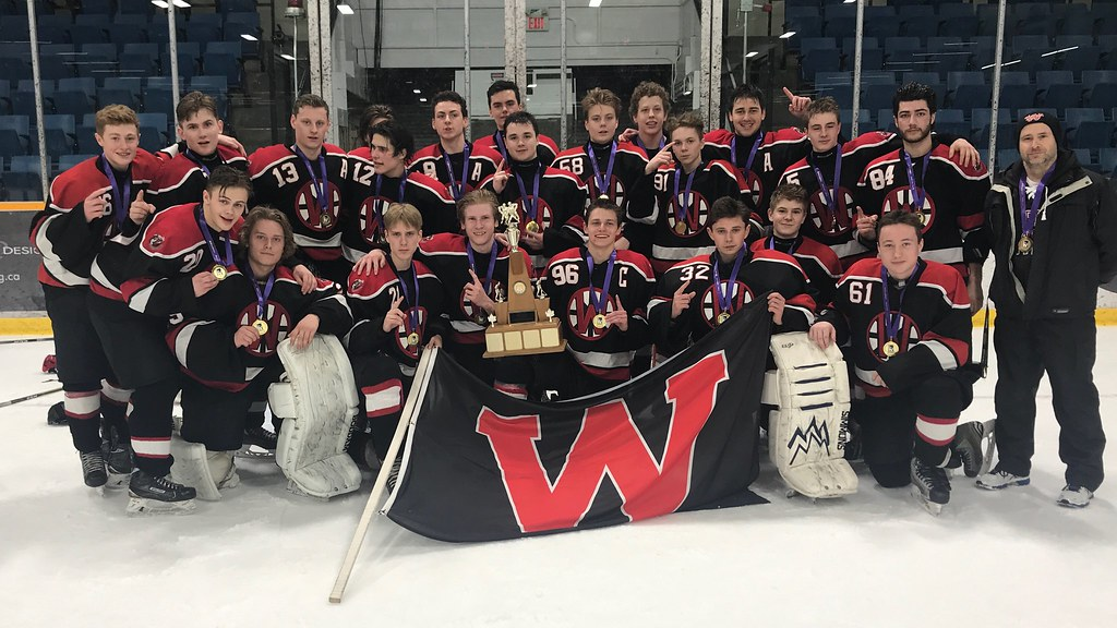 2017-18 Boys Hockey Champions: Waterdown Warriors