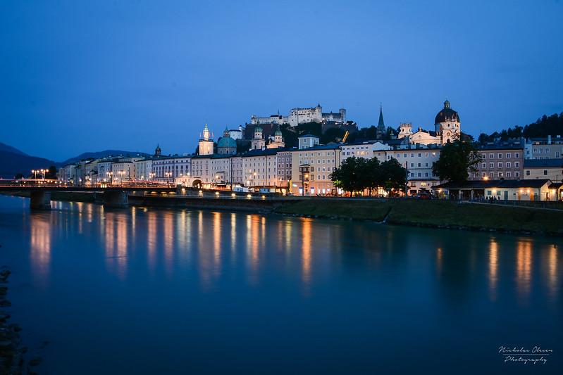 Austria | Salzburg Blue Hour