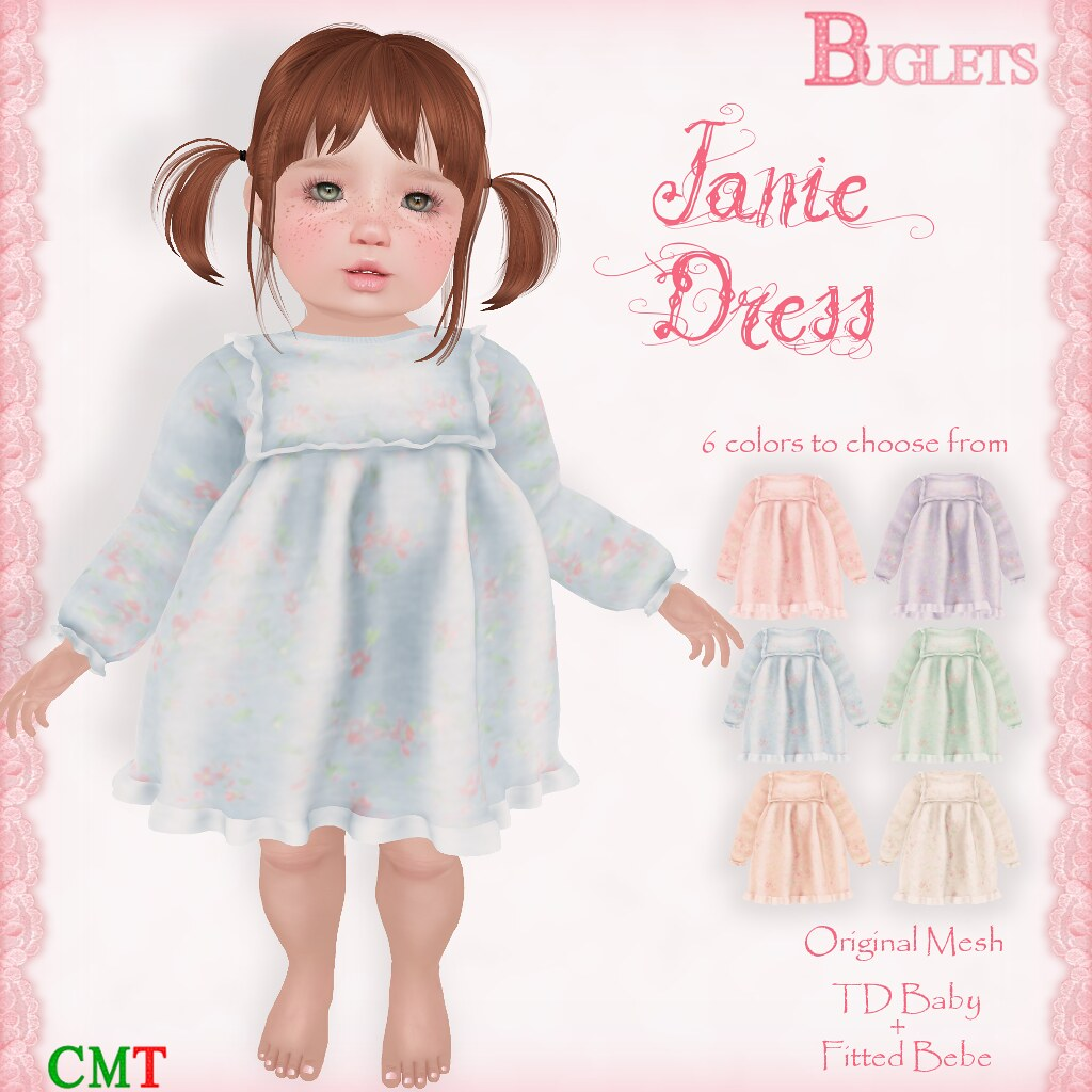 Janie Dress AD - TeleportHub.com Live!