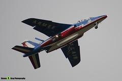 E158 F-TERF 6 - E158- Patrouille de France - French Air Force - Dassault-Dornier Alpha Jet A - RIAT 2008 Fairford - 070711 - Steven Gray - IMG_7137