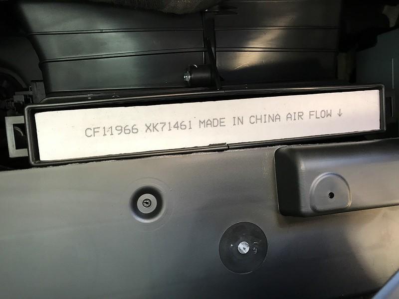 Cabin Air Filter - Chevy Colorado & GMC Canyon