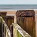 Distant sea defences.