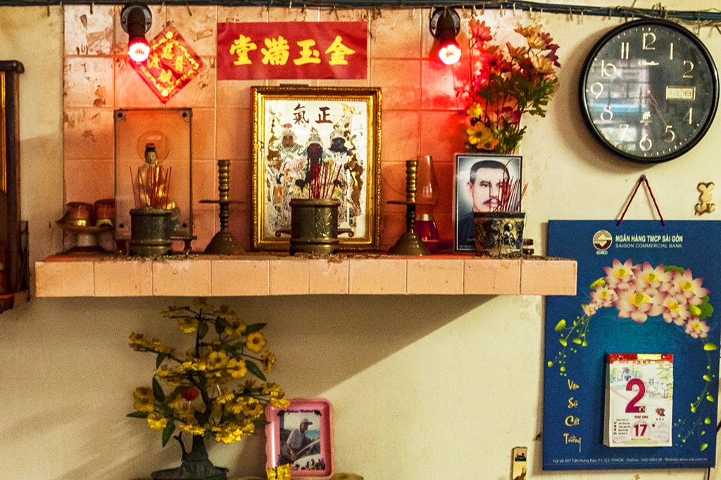 Living room in Cho Lon--Saigon (detail)