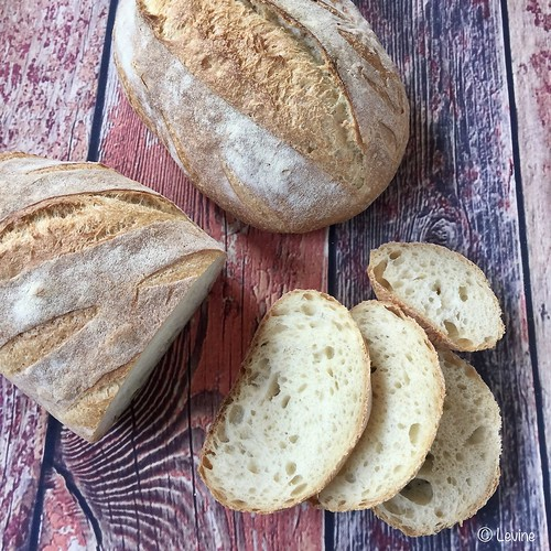 Semolinabrood met desem