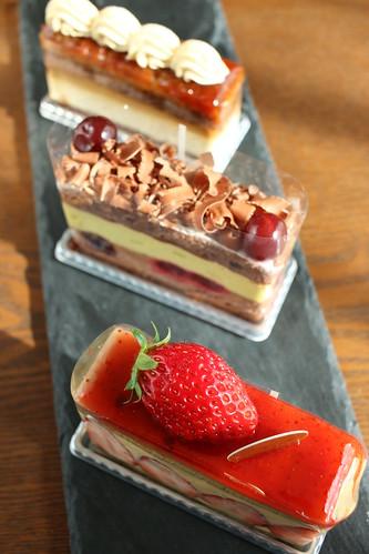 Le Milieuのケーキ