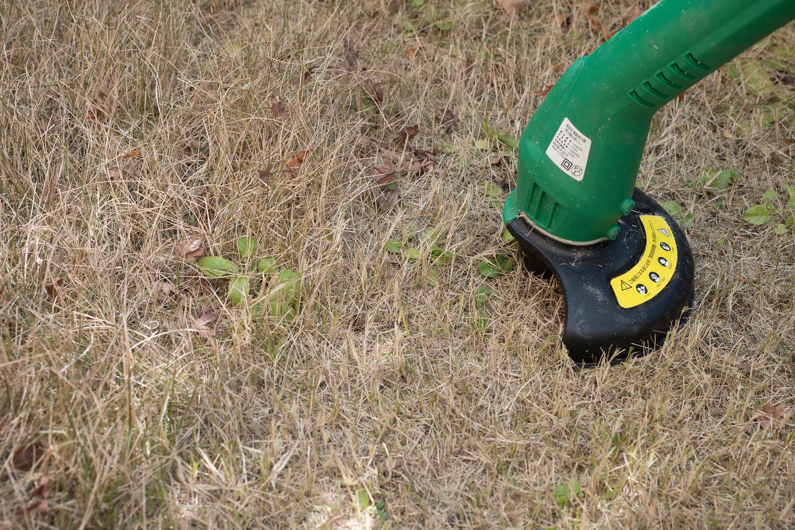 家庭用電動草刈機-9