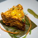 Chili crab - Warm crab chunks, watercress, edamame guacamole, mint chutney