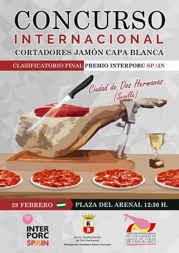 Cartel concurso internacional cortadores de jamón