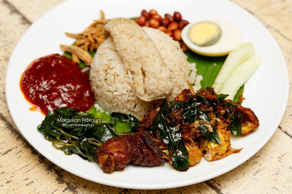 Don's Warong nasi lemak kukus johor