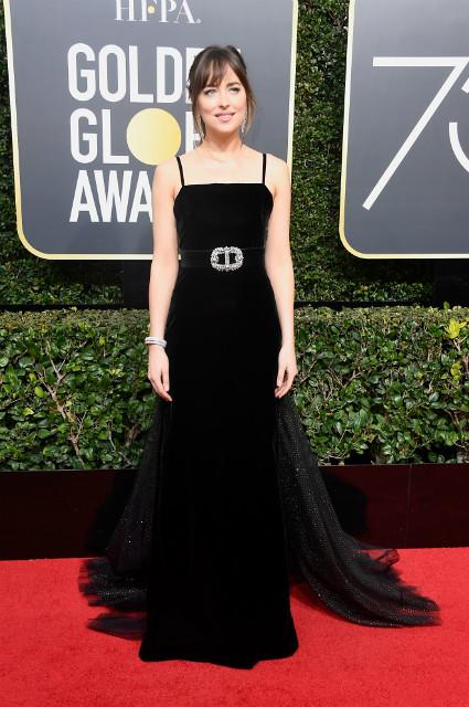 Черные платья на Golden Globe